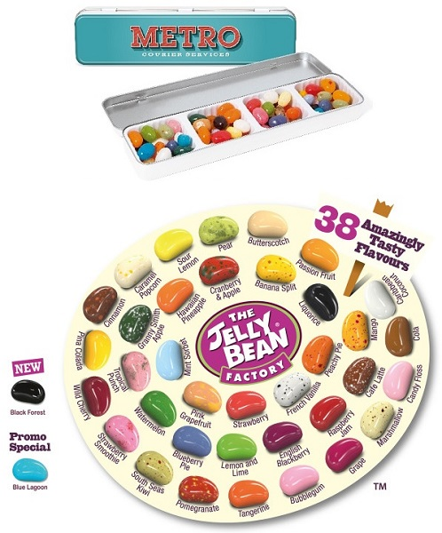 Gourmet Jelly Bean - Slim Tin
