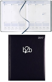 Strata Management Deluxe Desk Diary - White Paper